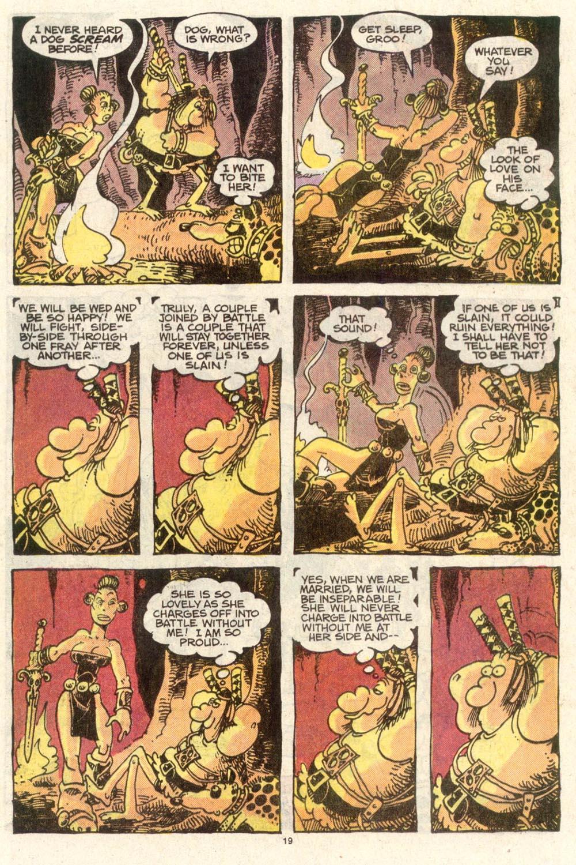 Read online Sergio Aragonés Groo the Wanderer comic -  Issue #50 - 19