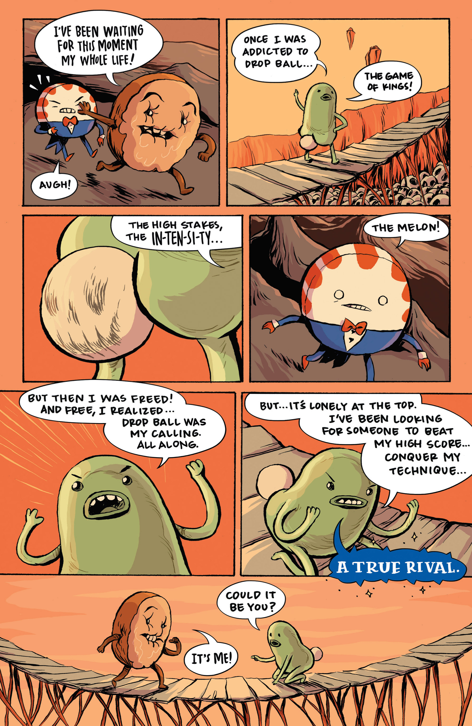 Read online Adventure Time: Candy Capers comic -  Issue #3 - 12