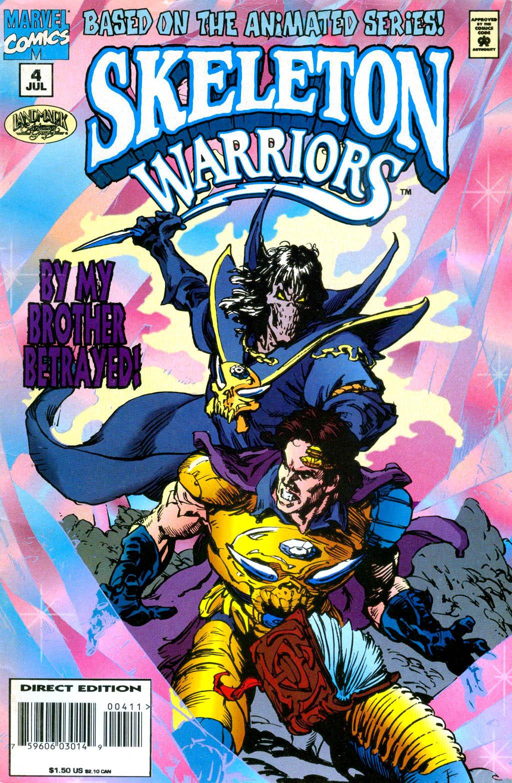 Skeleton Warriors Issue #4 #4 - English 1