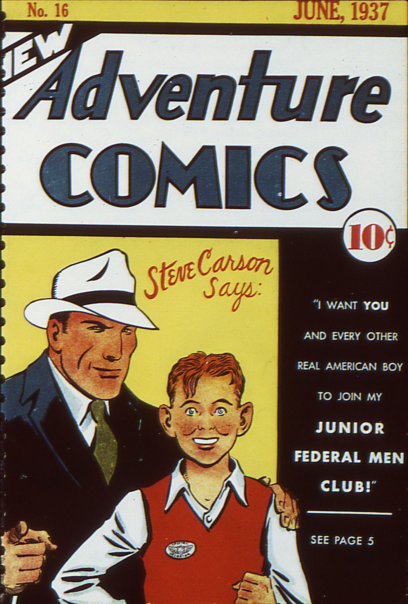 Read online Adventure Comics (1938) comic -  Issue #16 - 1