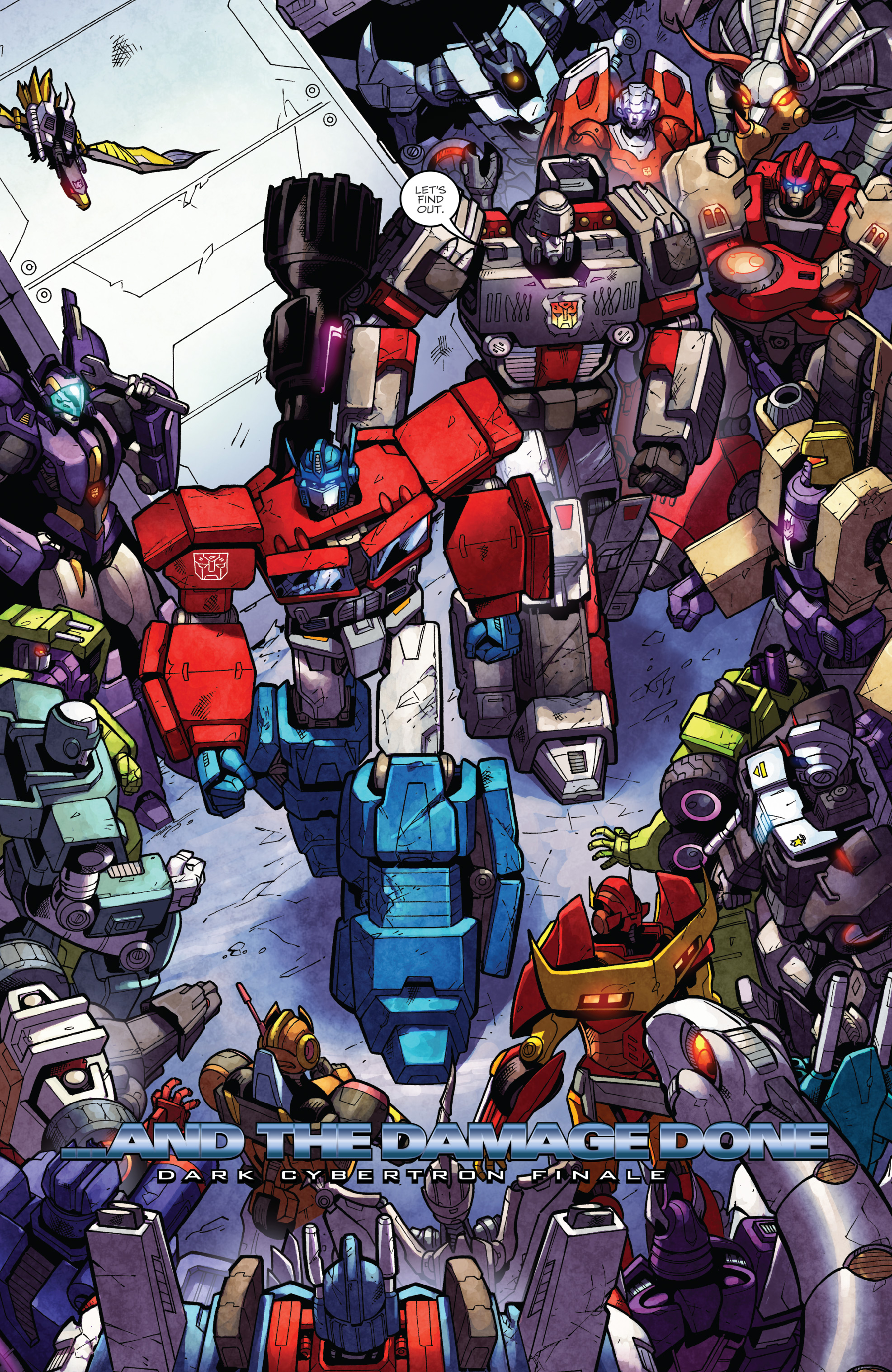 Read online The Transformers: Dark Cybertron Finale comic -  Issue # Full - 147