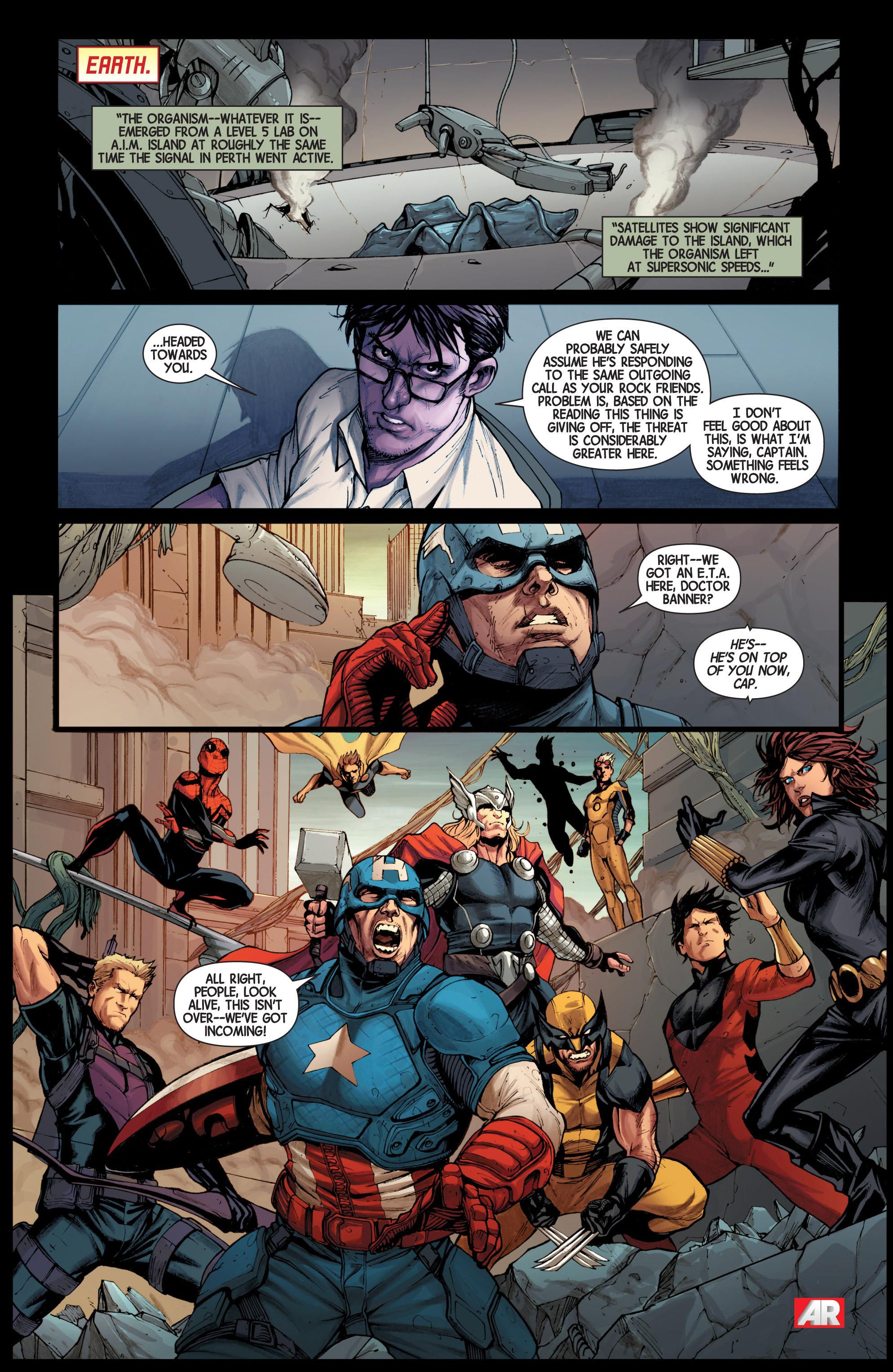 Read online Avengers (2013) comic -  Issue #Avengers (2013) _TPB 3 - 109