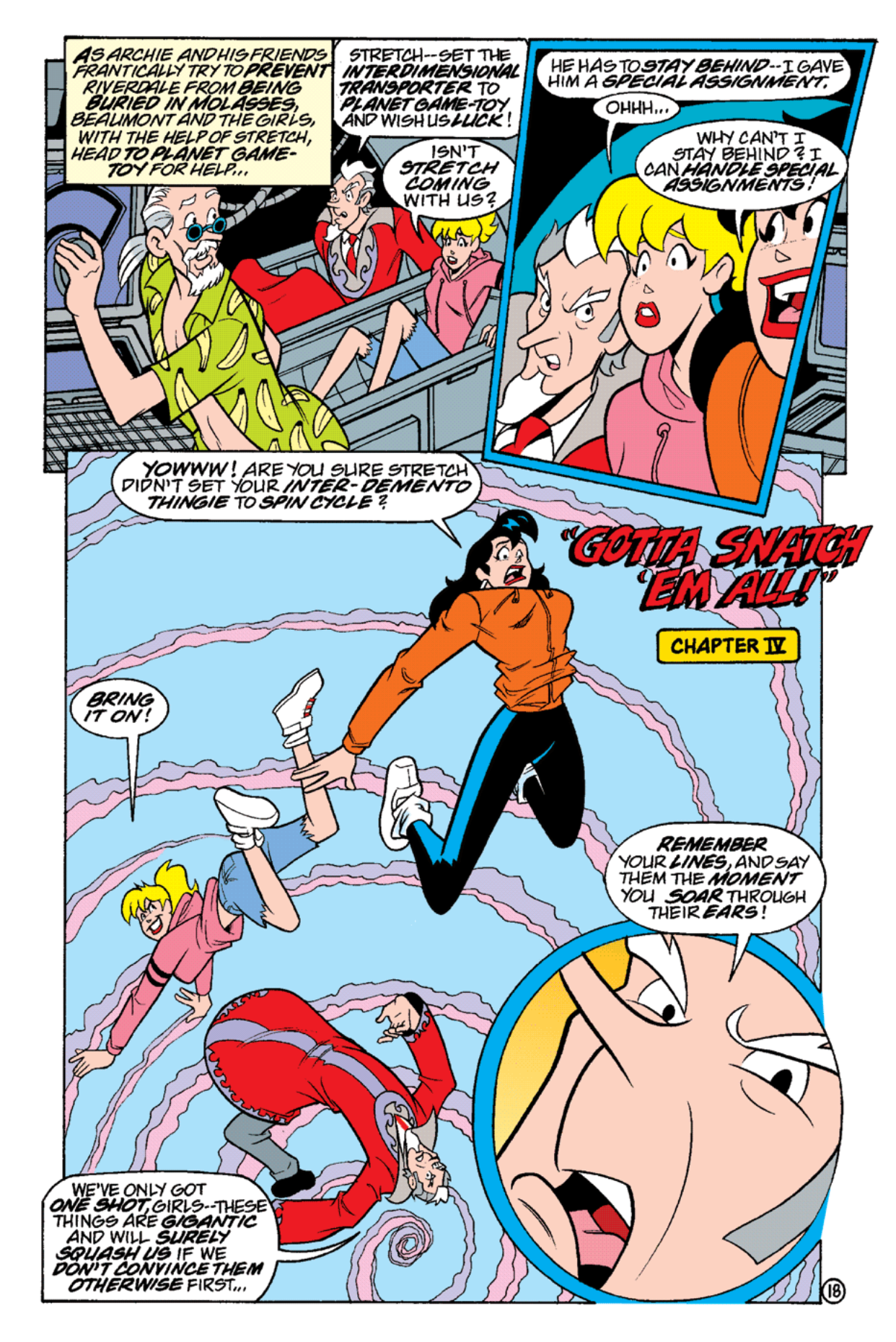Read online Archie's Weird Mysteries comic -  Issue #17 - 20