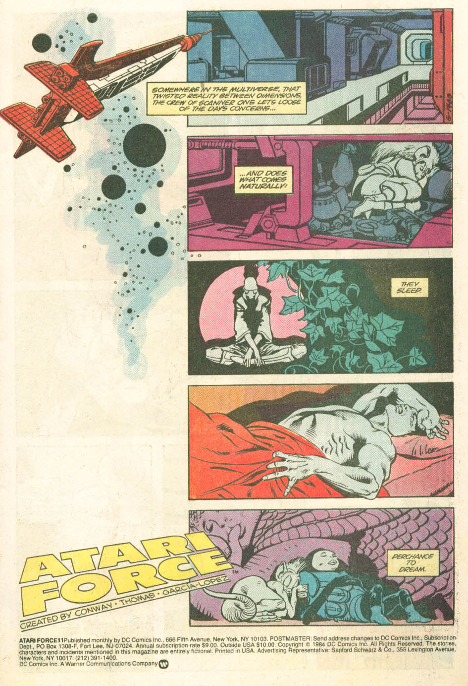 Read online Atari Force (1984) comic -  Issue #11 - 3