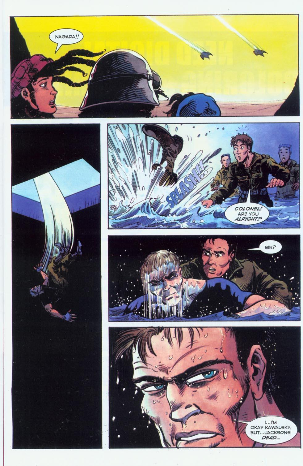 Read online Stargate comic -  Issue #3 - 9