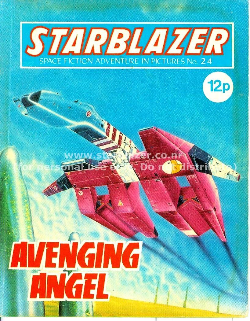 Starblazer issue 24 - Page 1