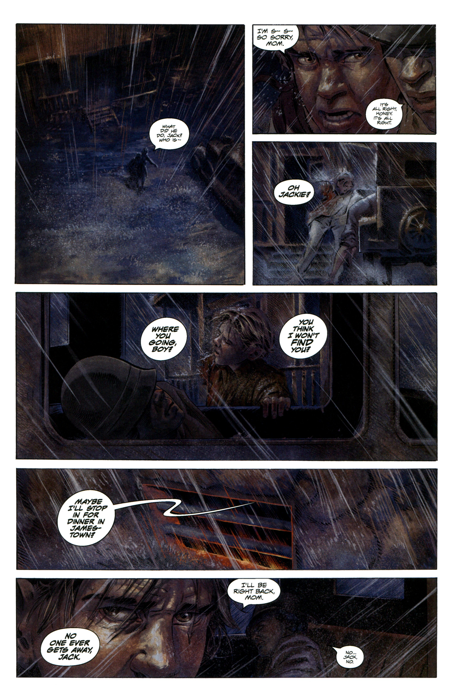 Read online Severed comic -  Issue #7 - 21