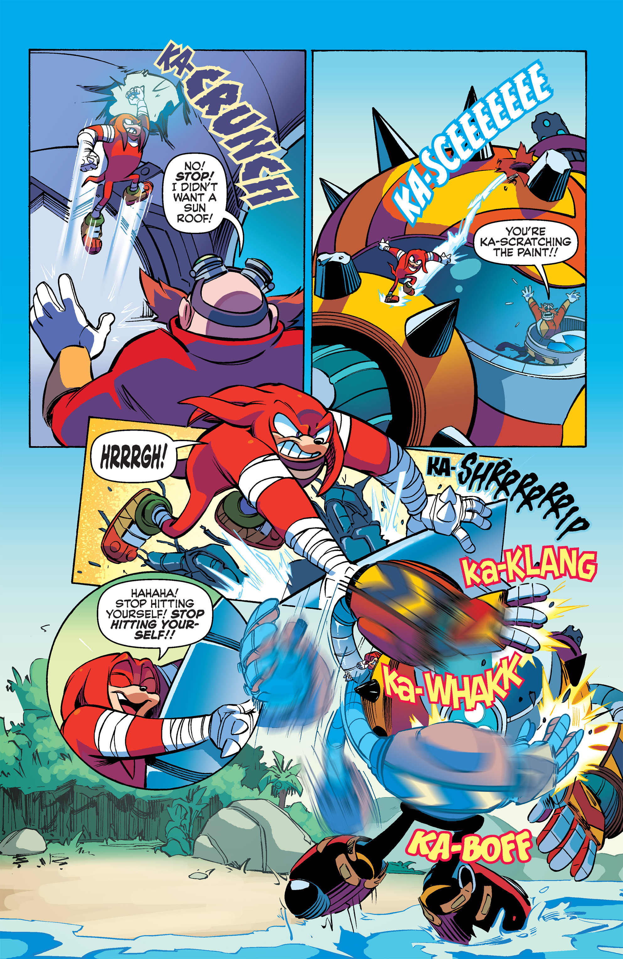 Read online Sonic Boom comic -  Issue #2 - 17