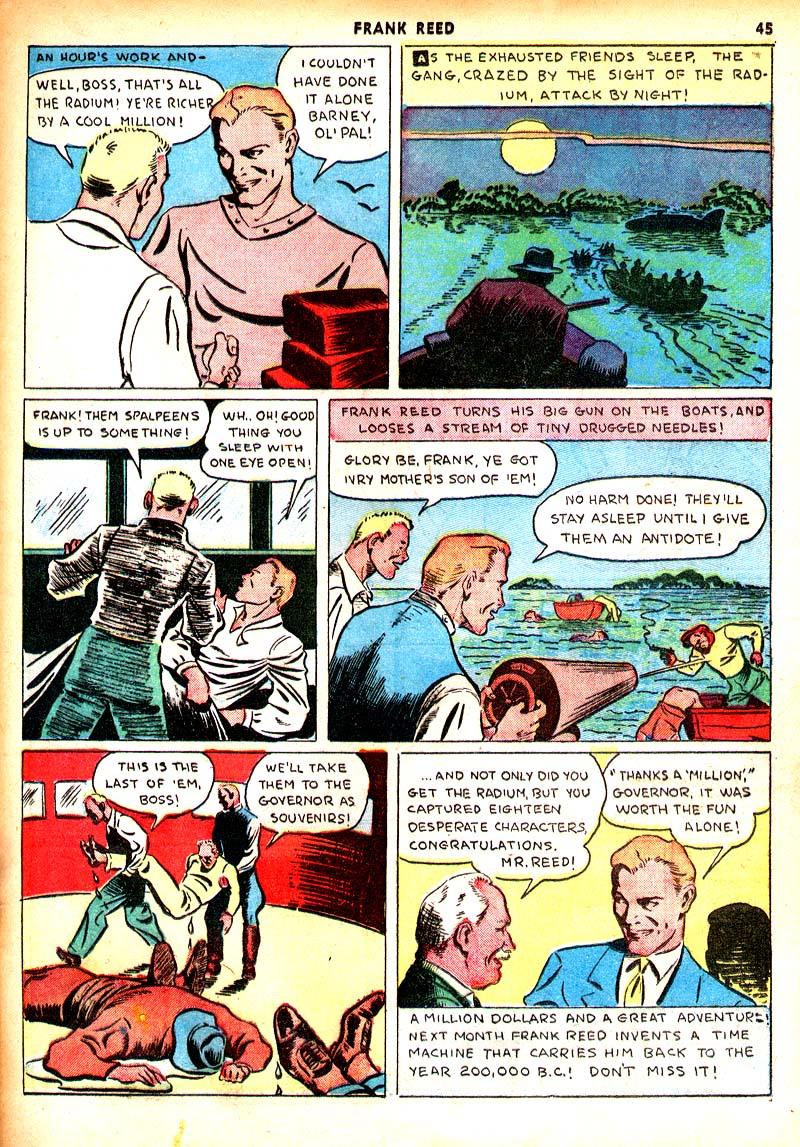 Read online Shadow Comics comic -  Issue #7 - 38