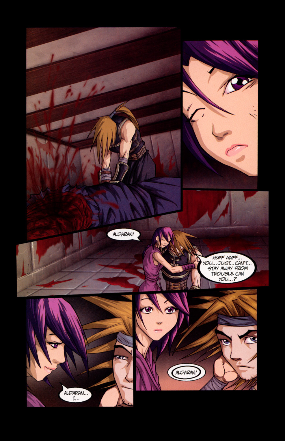 Read online Shidima comic -  Issue #7 - 23