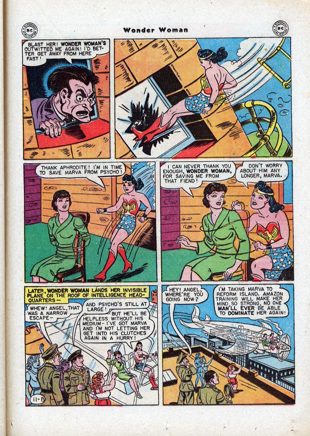 Read online Wonder Woman (1942) comic -  Issue #18 - 35