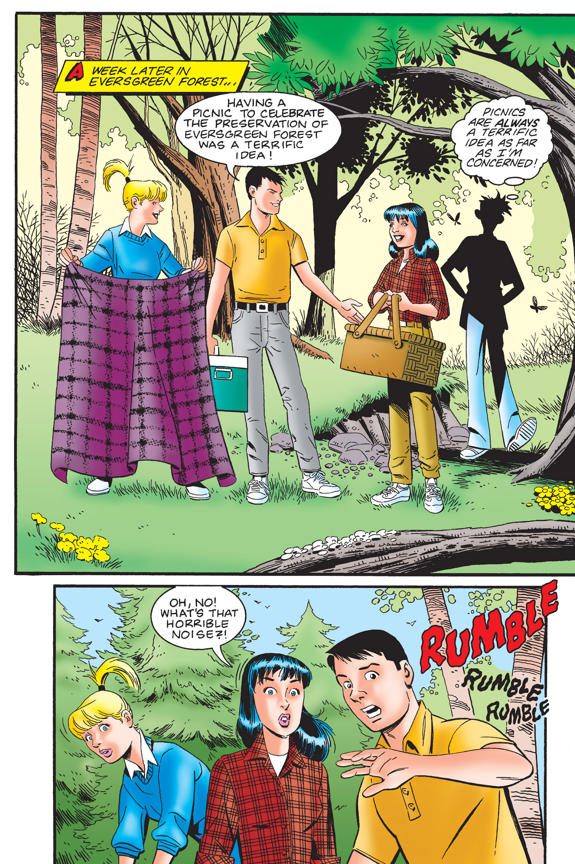 Read online Archie's New Look Series comic -  Issue #4 - 107