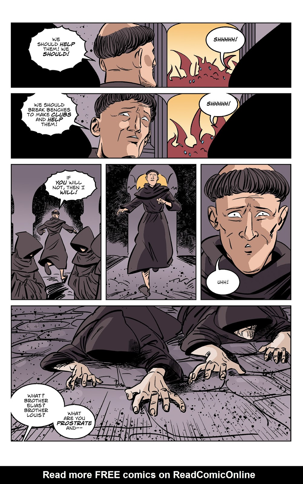 Read online Dark Ages comic -  Issue #4 - 8