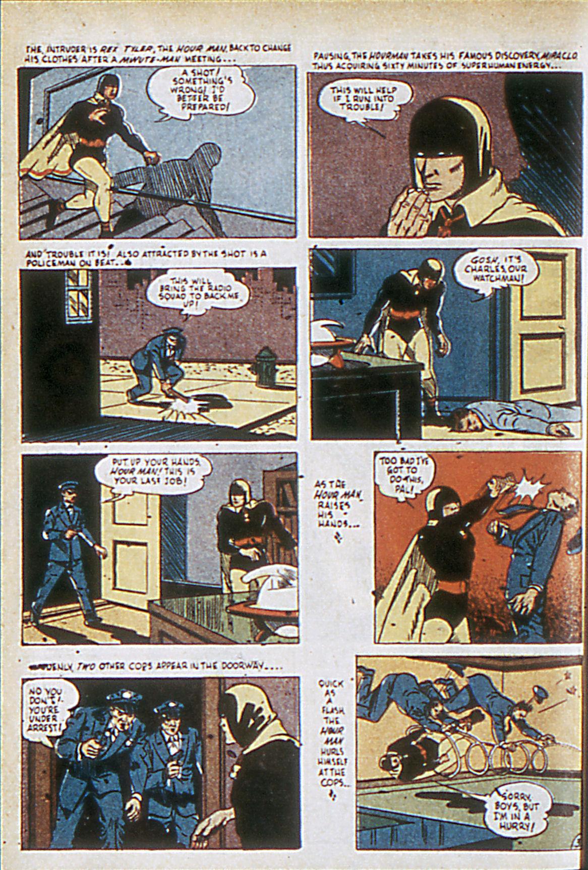 Read online Adventure Comics (1938) comic -  Issue #63 - 35