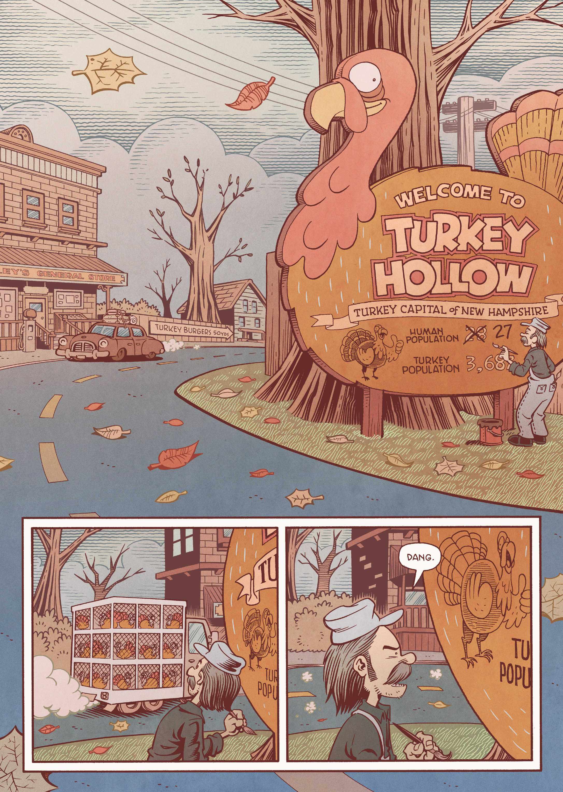 Read online Jim Henson's The Musical Monsters of Turkey Hollow comic -  Issue # Full - 20
