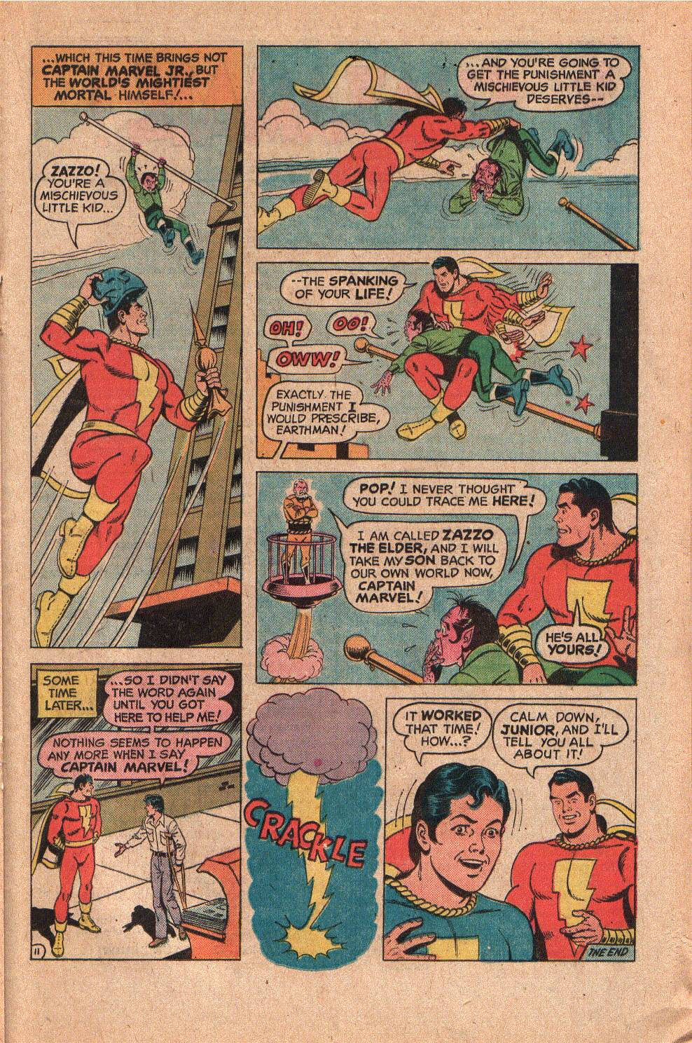 Read online Shazam! (1973) comic -  Issue #19 - 21