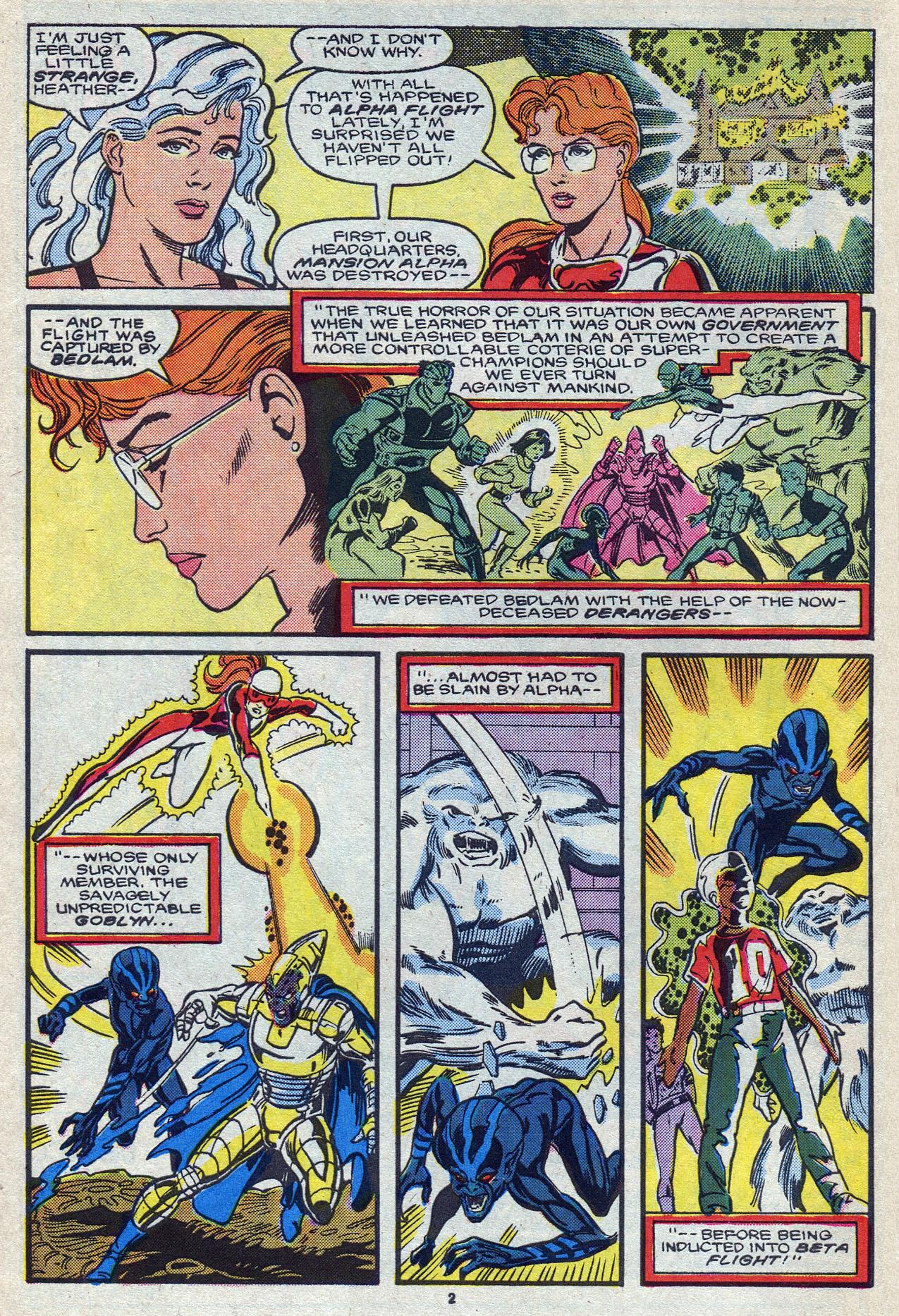 Read online Alpha Flight (1983) comic -  Issue #55 - 4