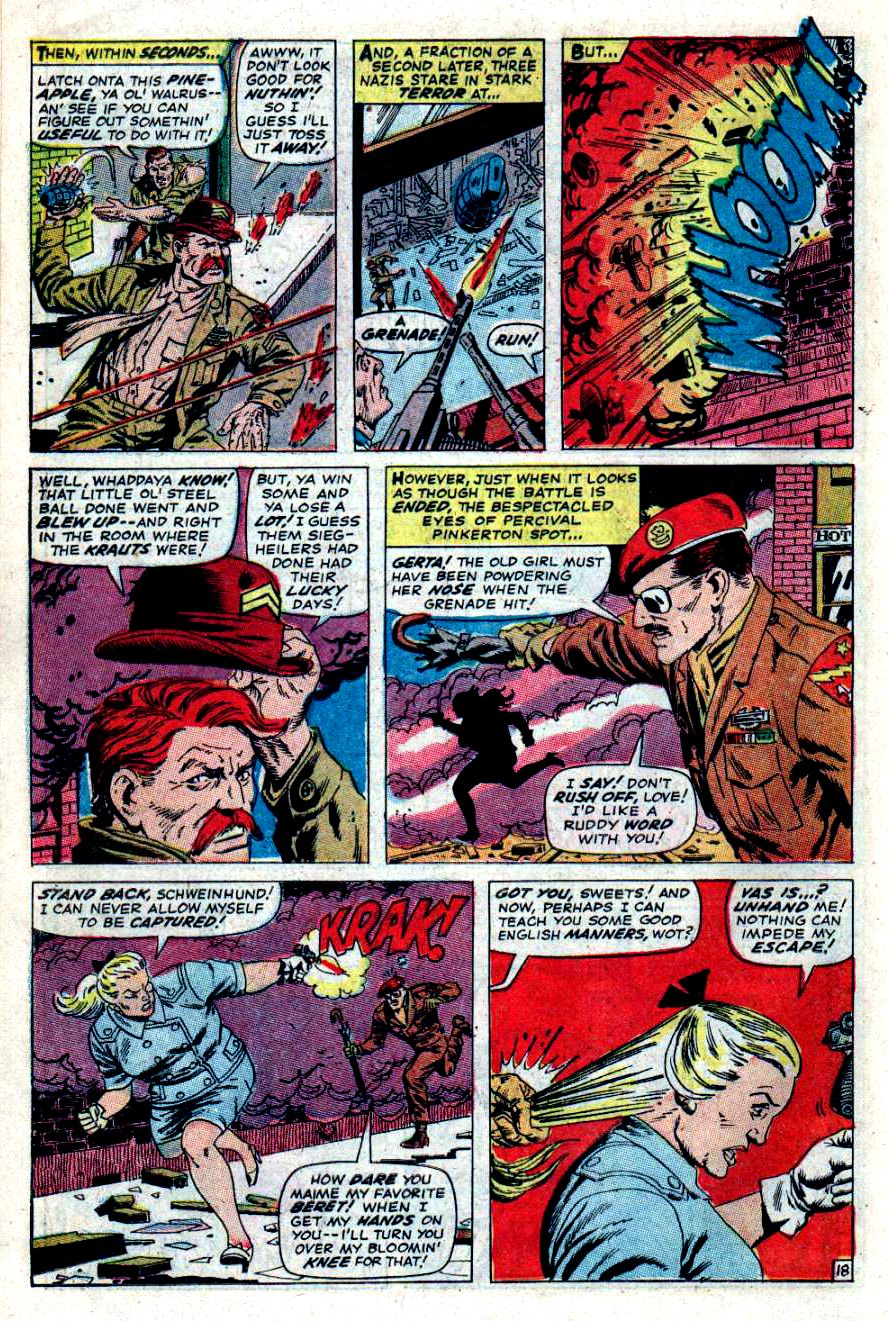 Read online Sgt. Fury comic -  Issue #47 - 25