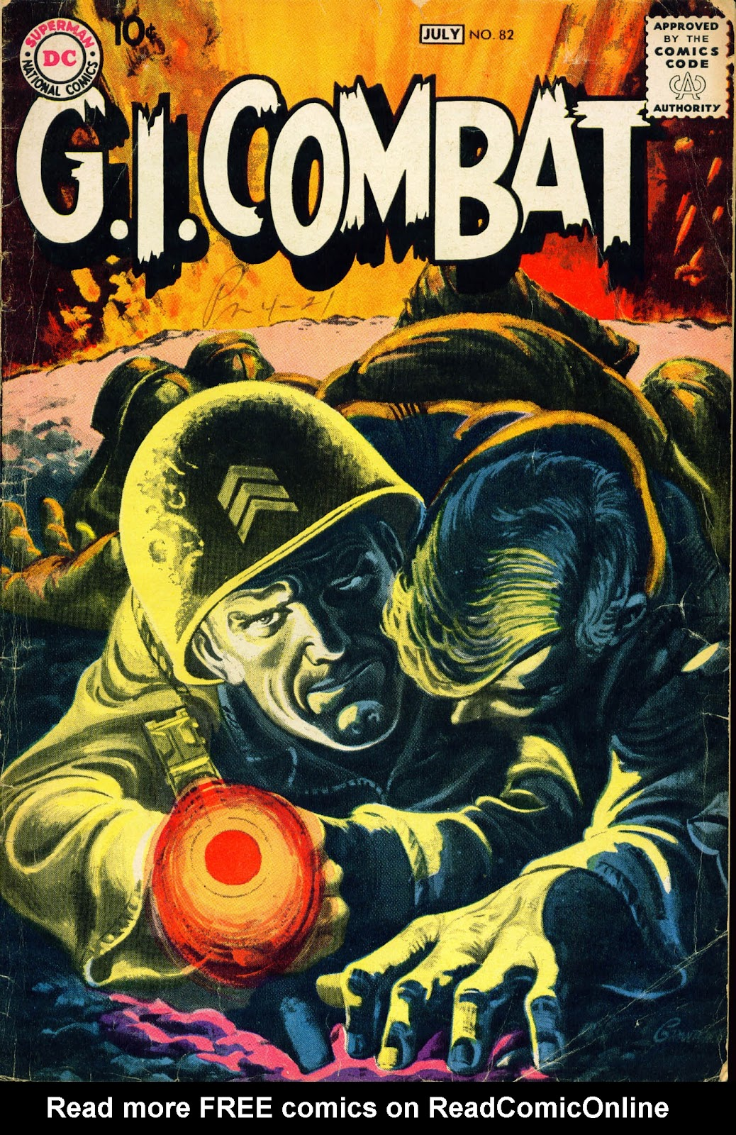 G.I. Combat (1952) issue 82 - Page 1