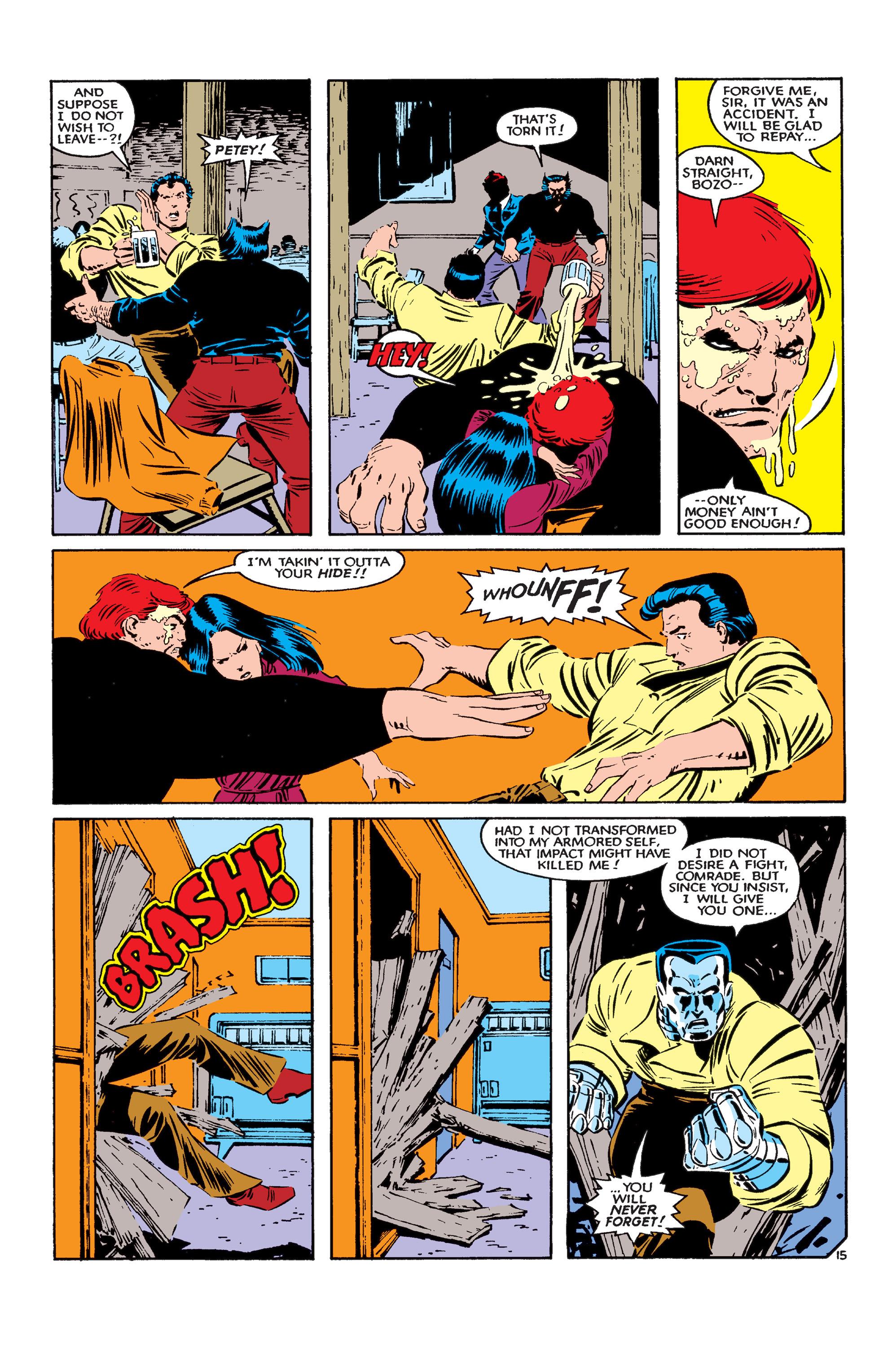Read online Uncanny X-Men (1963) comic -  Issue #183 - 16
