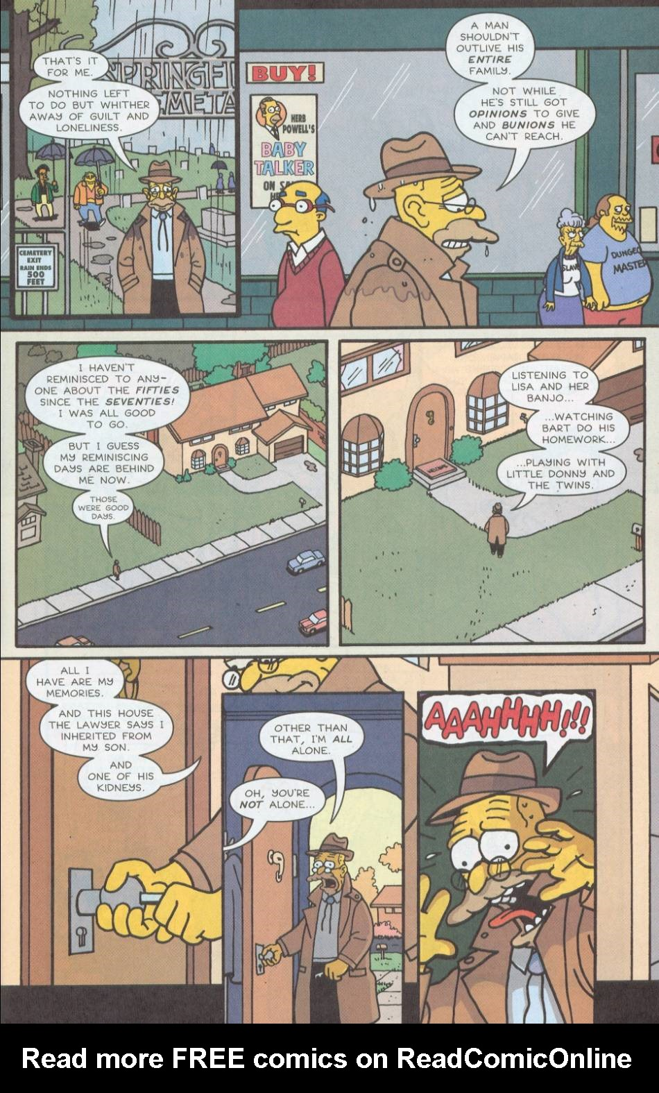Read online Treehouse of Horror comic -  Issue #8 - 4