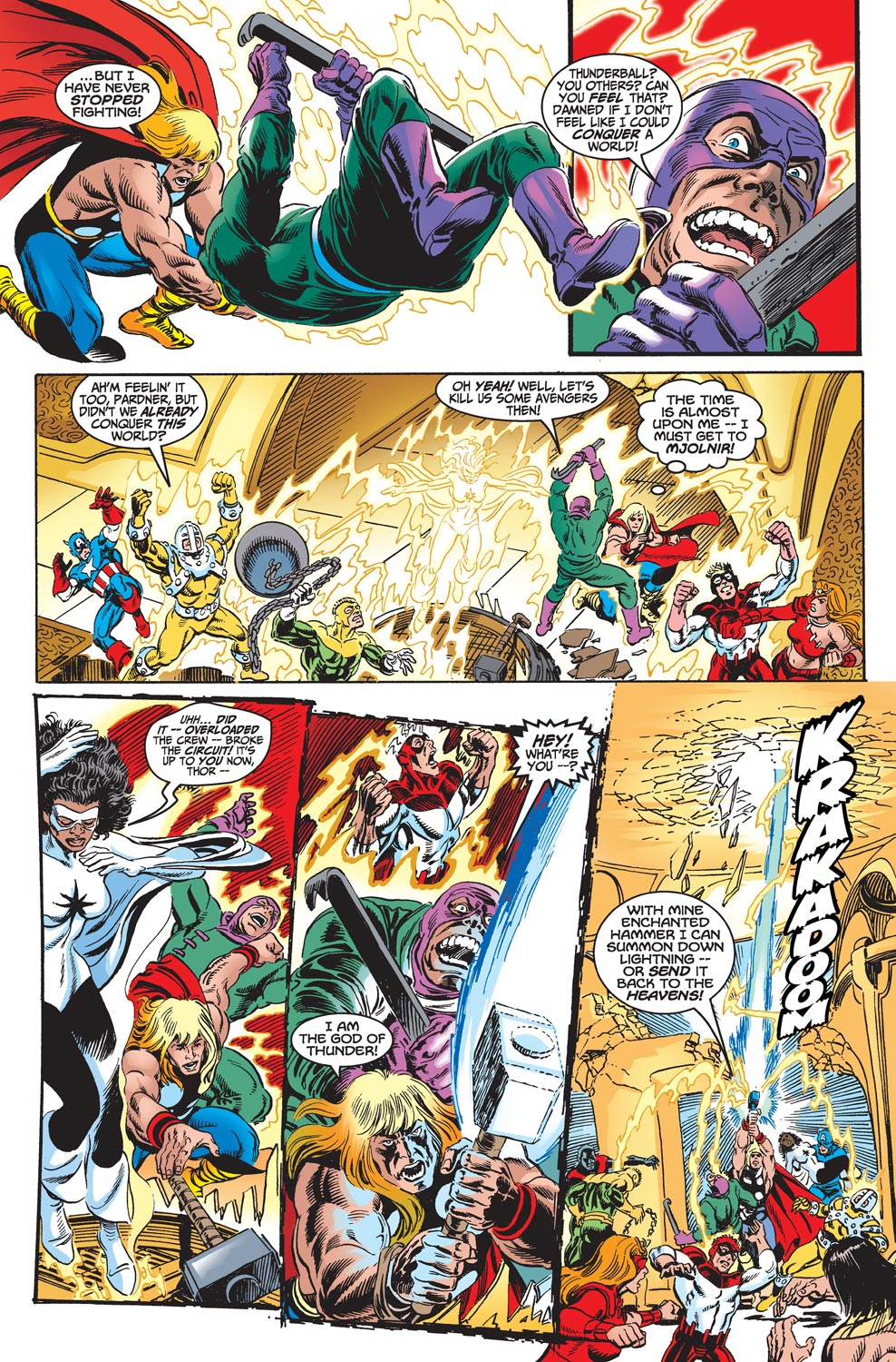 Read online Avengers (1998) comic -  Issue #18 - 19