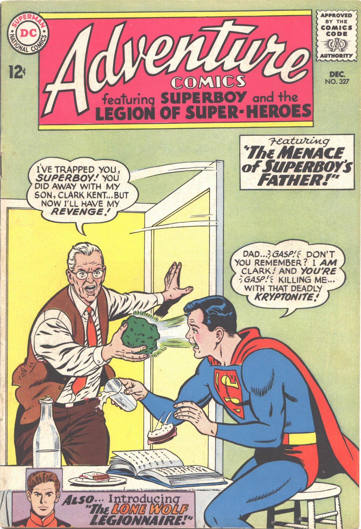 Read online Adventure Comics (1938) comic -  Issue #327 - 1