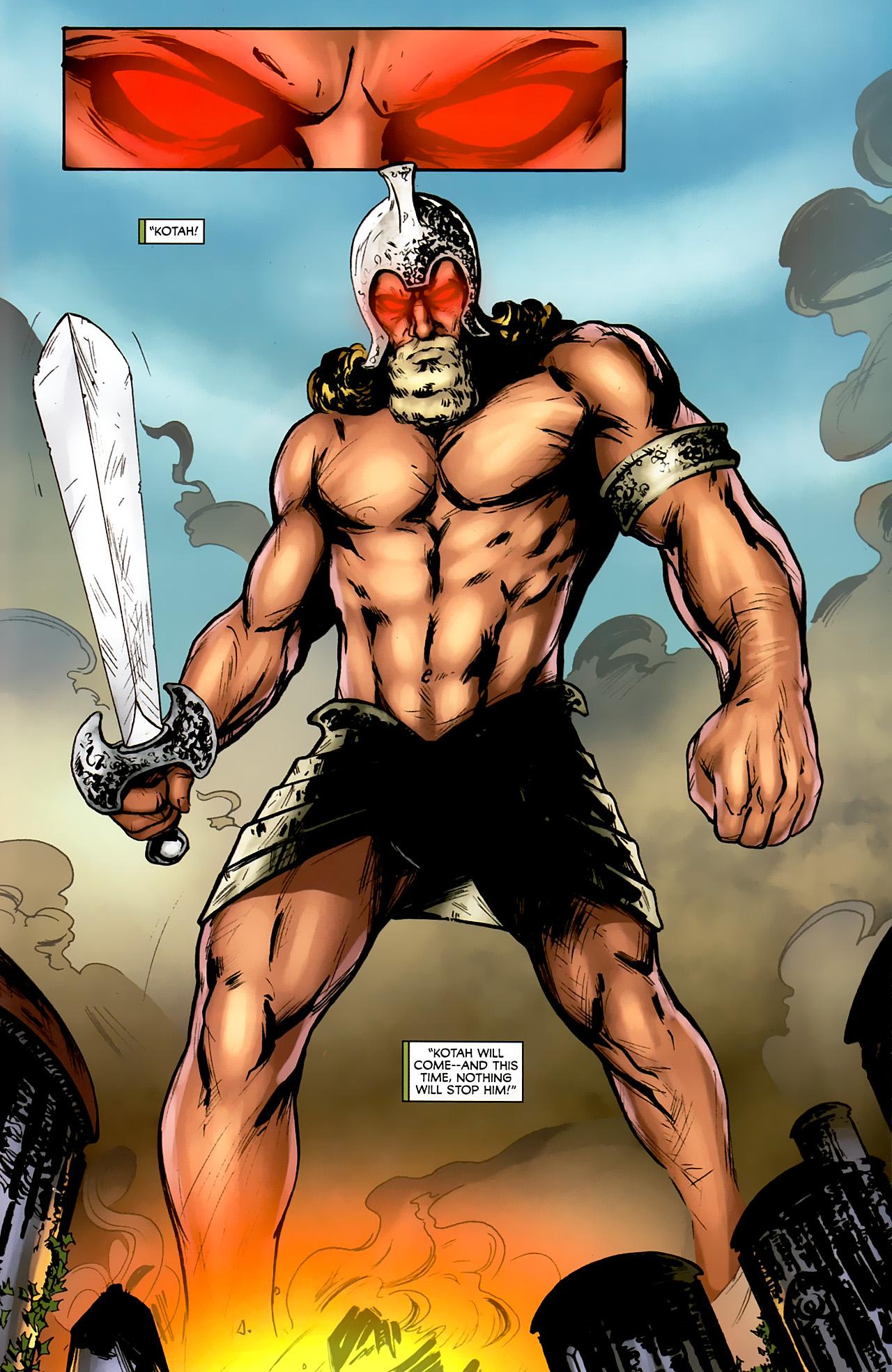 Read online Stargate: Daniel Jackson comic -  Issue #4 - 17