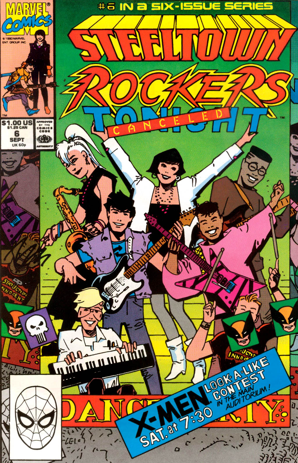 Steeltown Rockers issue 6 - Page 1