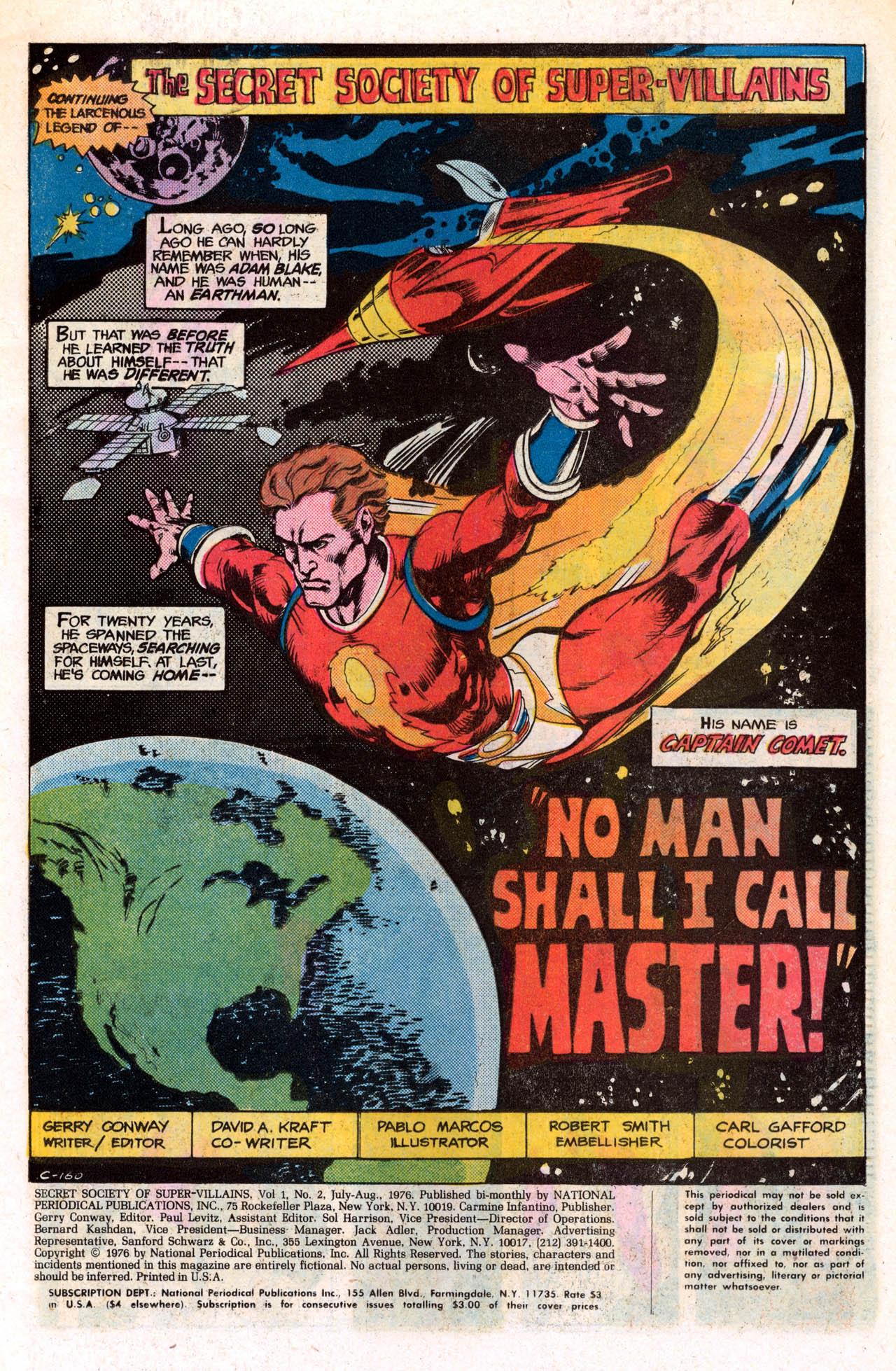 Read online Secret Society of Super-Villains comic -  Issue #2 - 3