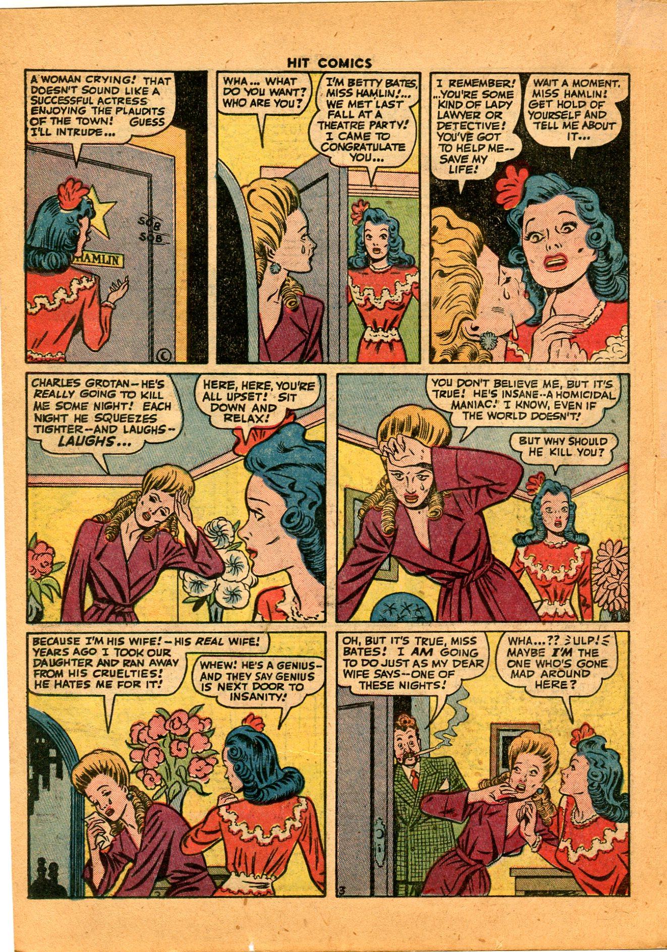 Read online Hit Comics comic -  Issue #35 - 32