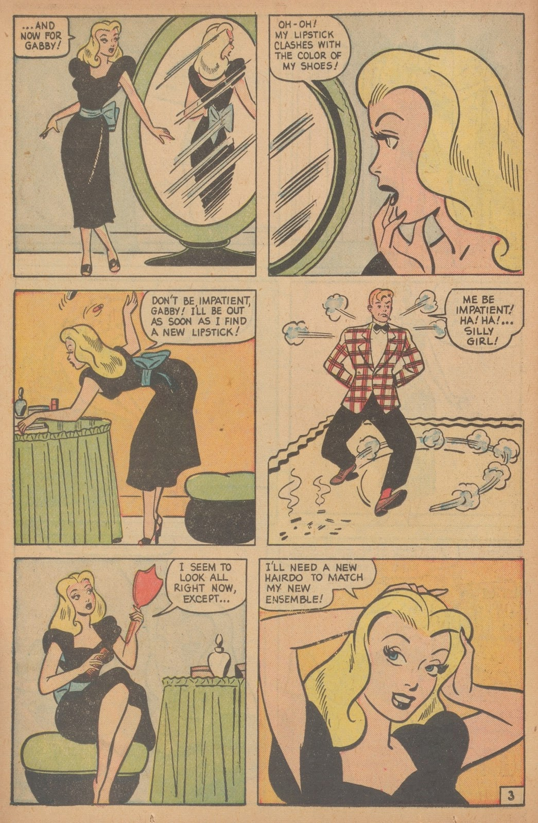 Read online Nellie The Nurse (1945) comic -  Issue #21 - 22