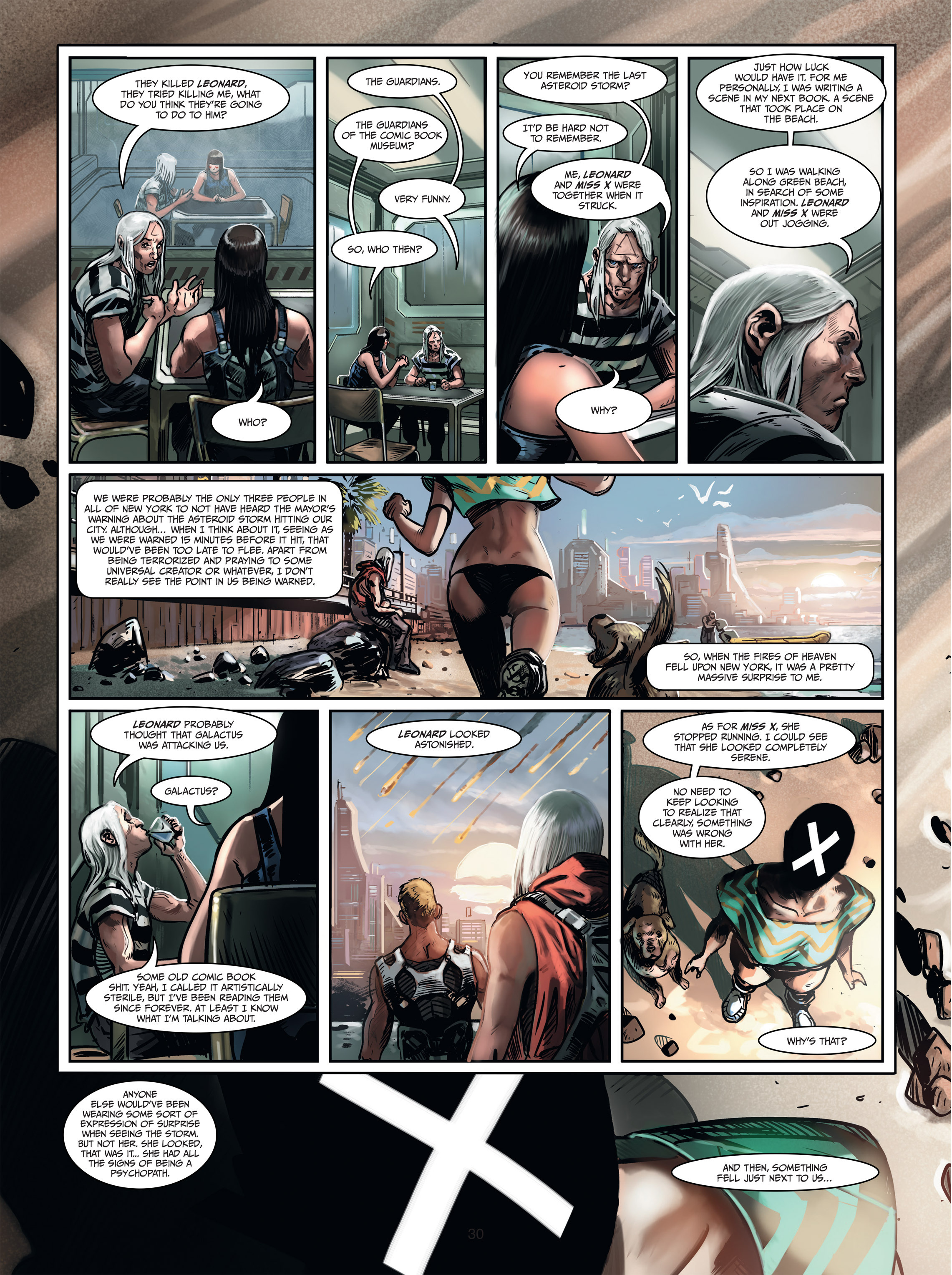 Read online Androïds comic -  Issue #1 - 28