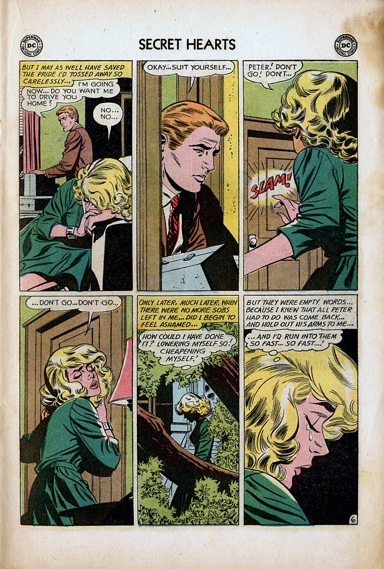 Read online Secret Hearts comic -  Issue #80 - 15