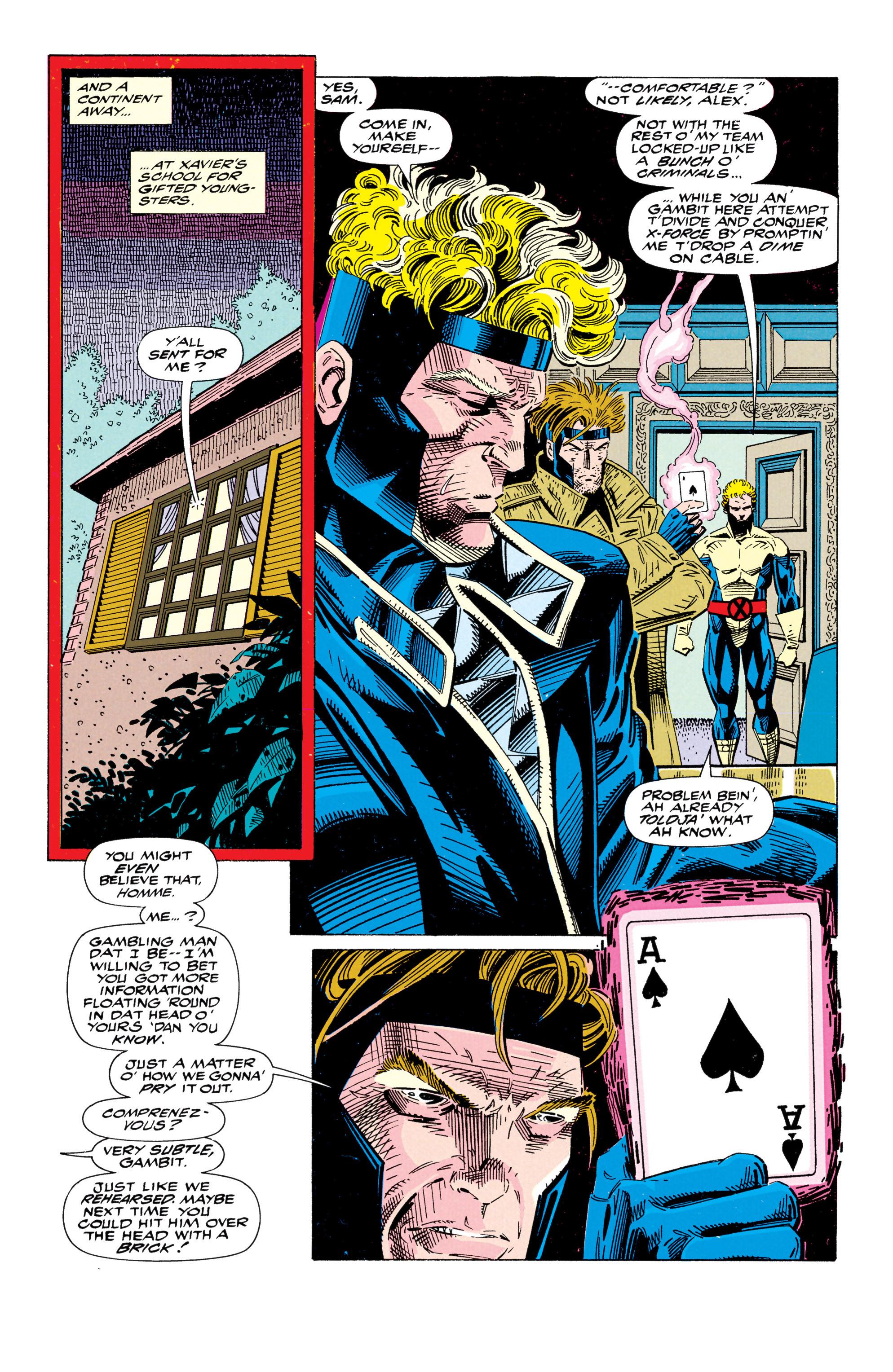 Read online Uncanny X-Men (1963) comic -  Issue #295 - 20