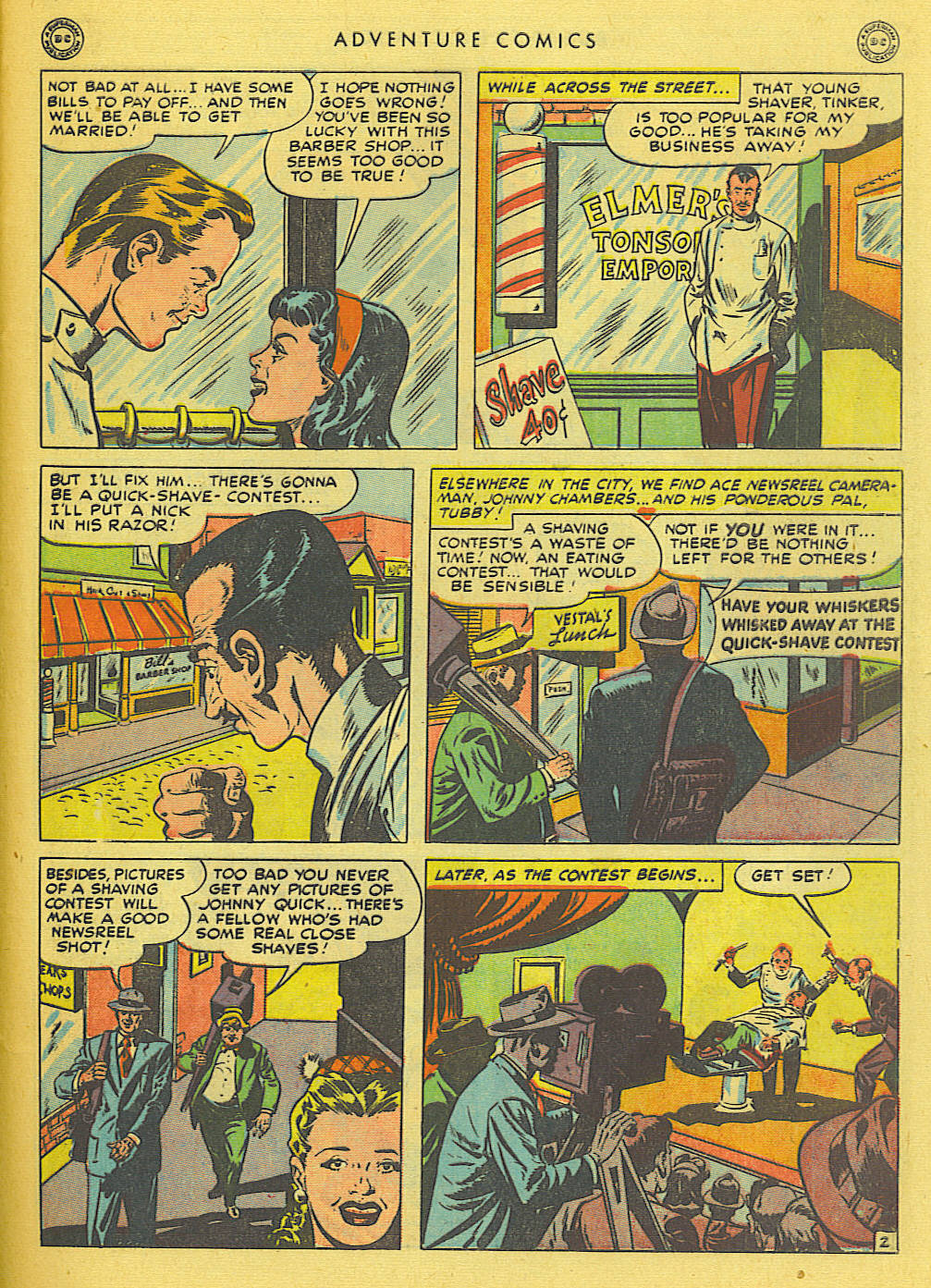 Read online Adventure Comics (1938) comic -  Issue #138 - 43