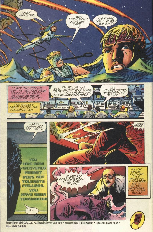 Read online Secret Weapons comic -  Issue #5 - 22