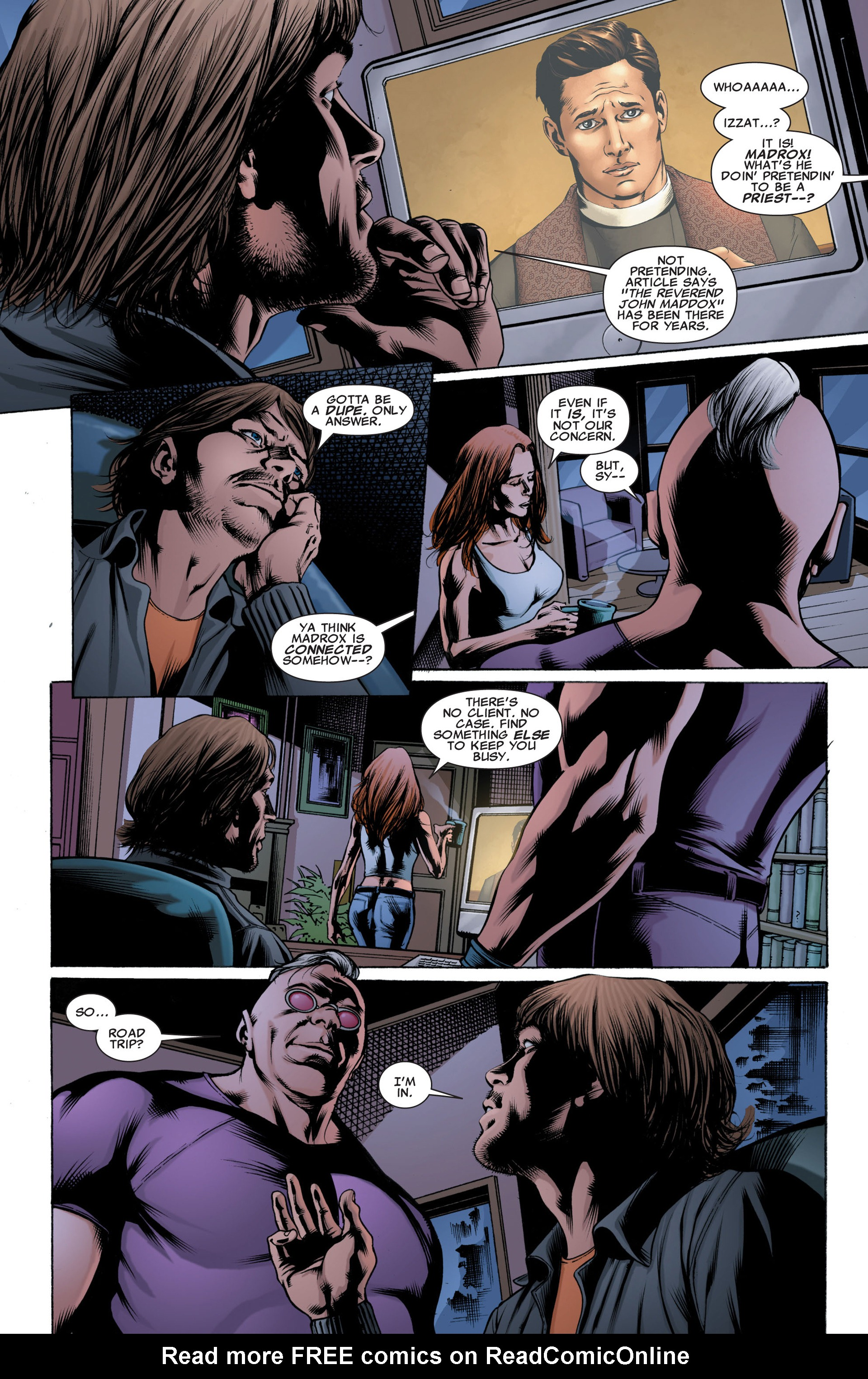 Read online X-Factor (2006) comic -  Issue #42 - 4
