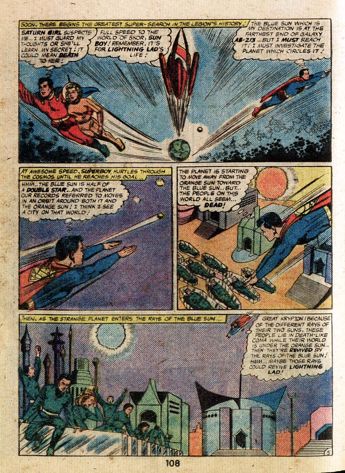 Read online Adventure Comics (1938) comic -  Issue #500 - 108