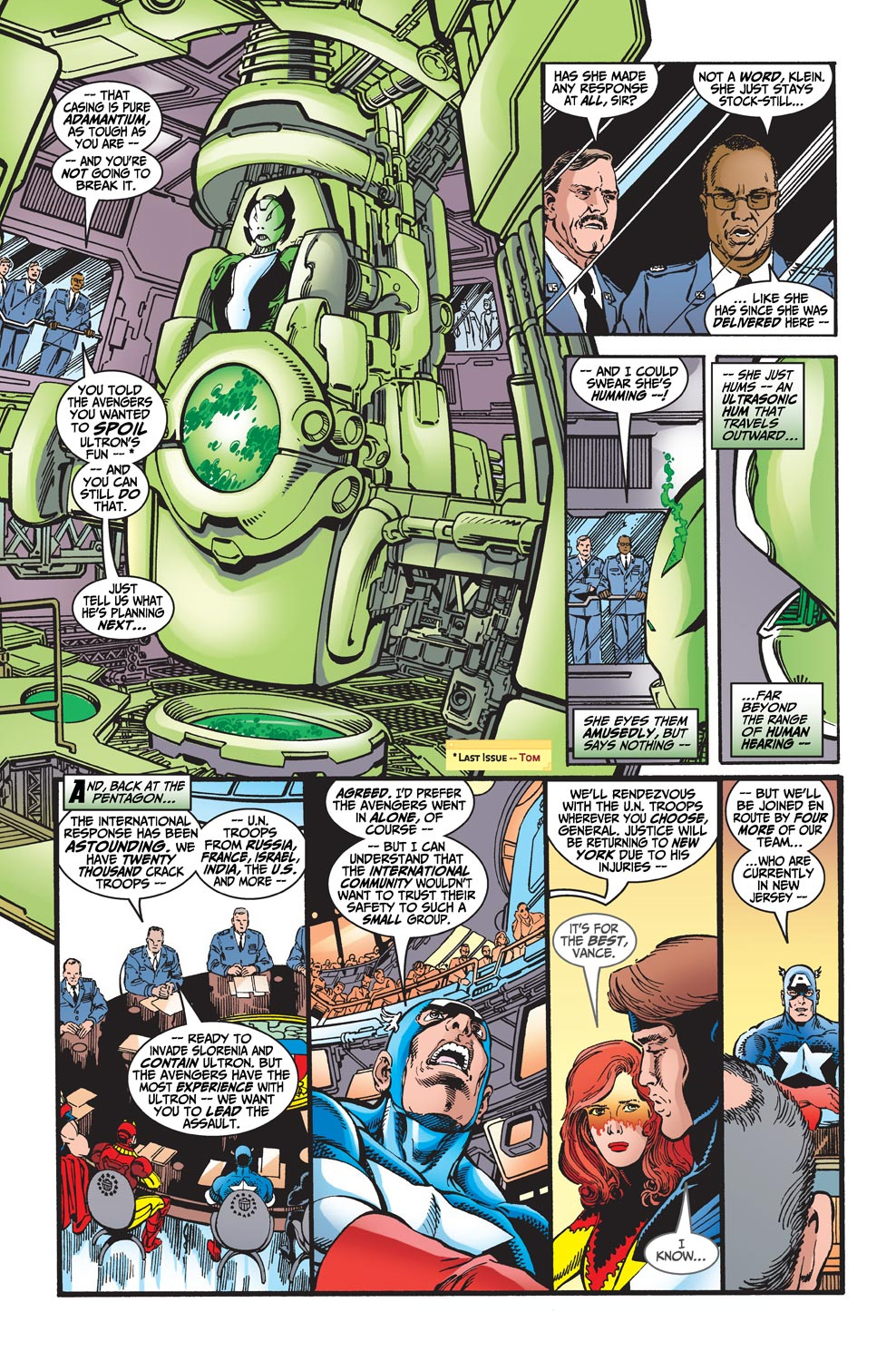 Read online Avengers (1998) comic -  Issue #20 - 8