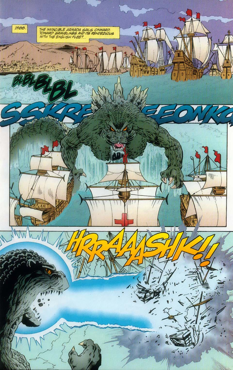 Godzilla (1995) Issue #10 #11 - English 10