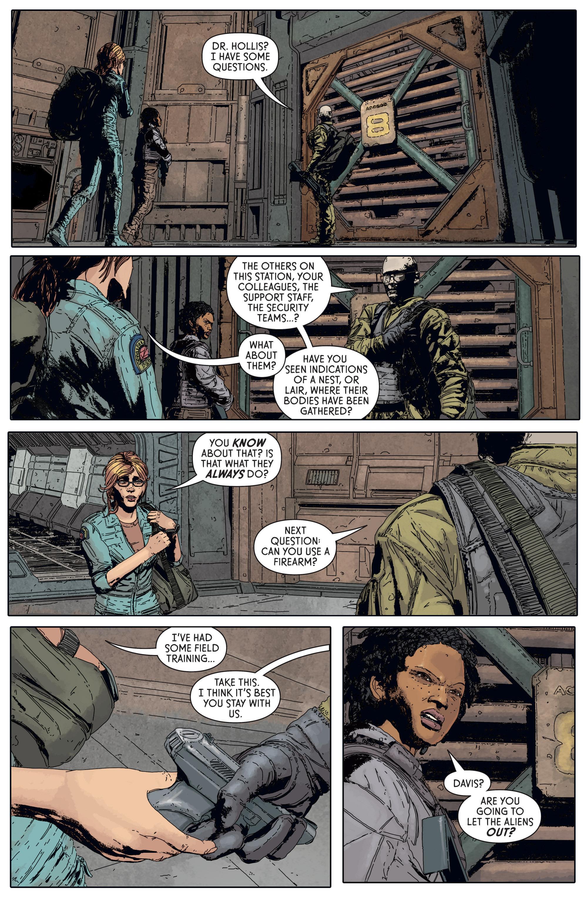 Read online Aliens: Defiance comic -  Issue #5 - 18