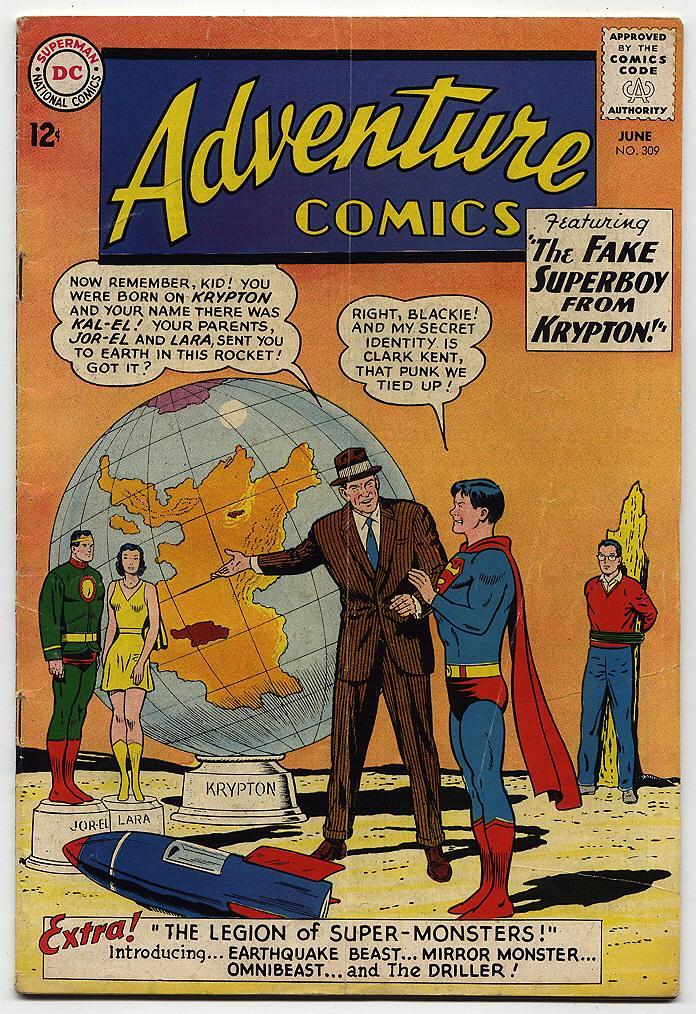 Read online Adventure Comics (1938) comic -  Issue #309 - 2