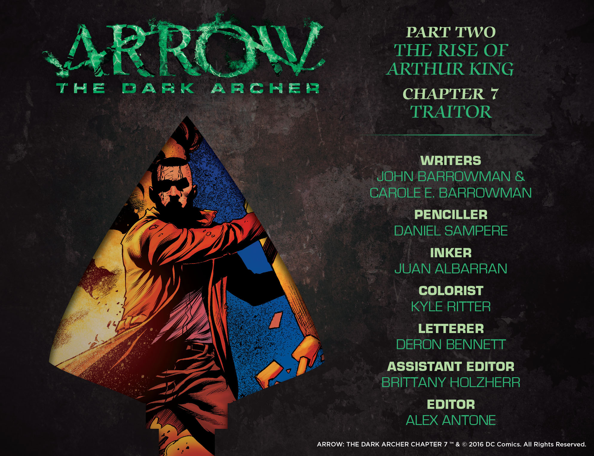 Read online Arrow: The Dark Archer comic -  Issue #7 - 2