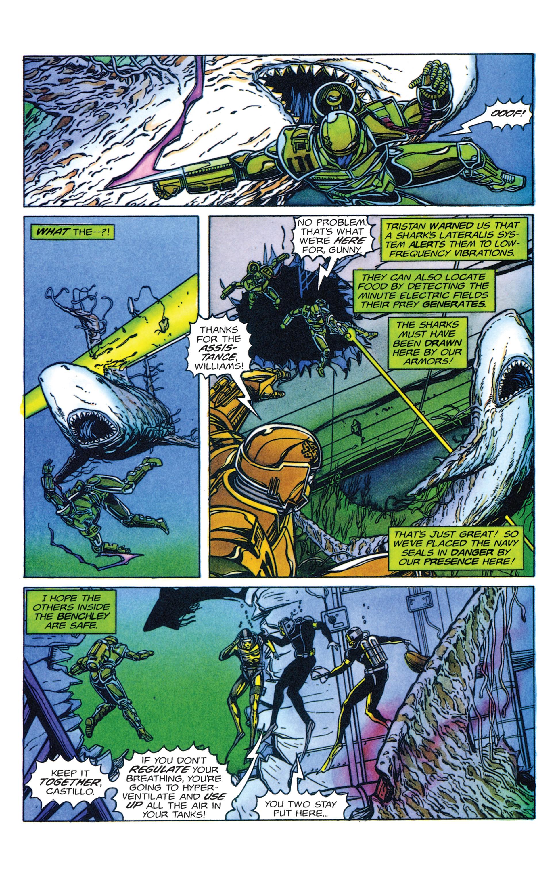Read online Armorines comic -  Issue #2 - 4