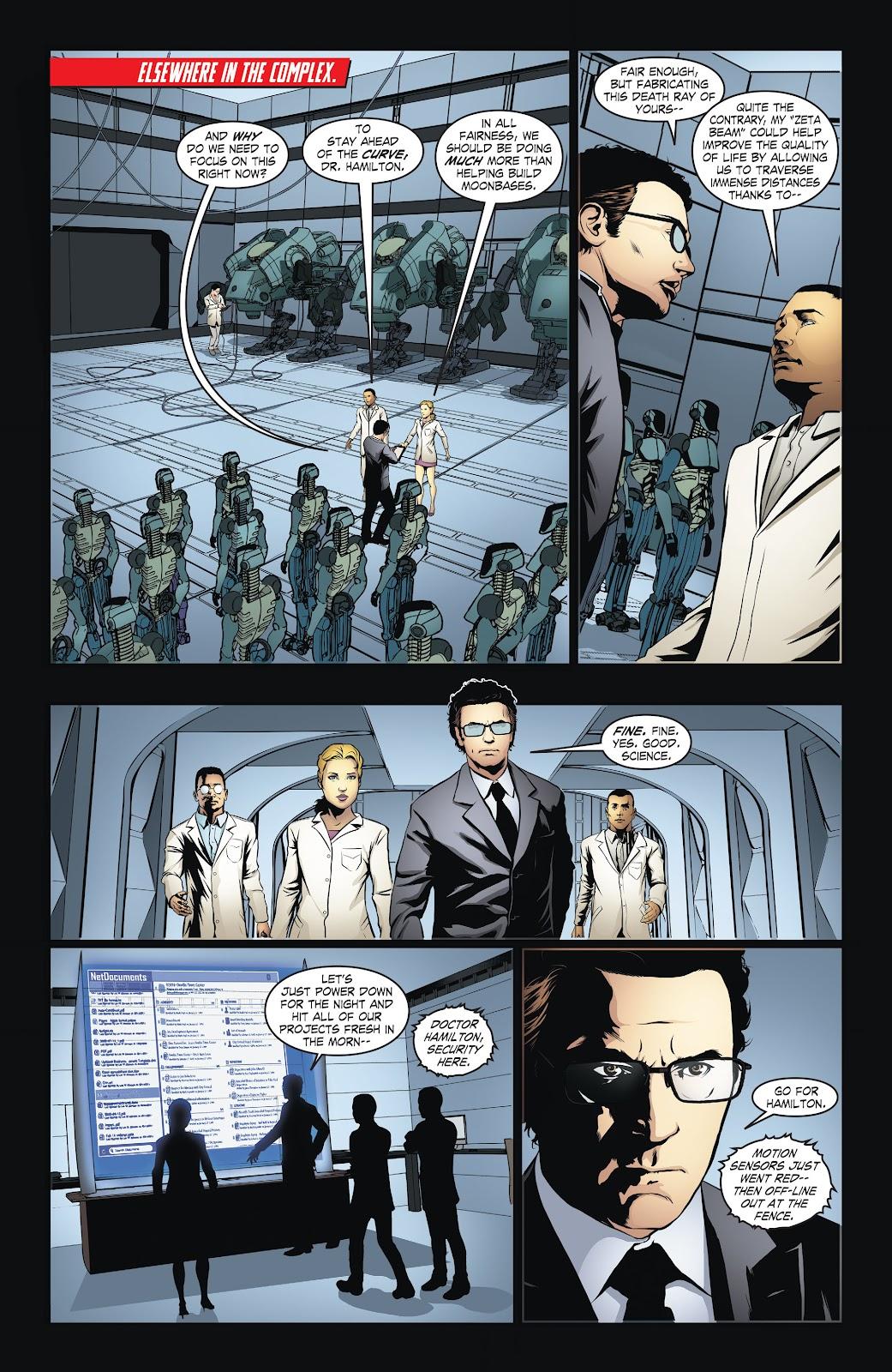 Read online Smallville Season 11 [II] comic -  Issue # TPB 6 - 30