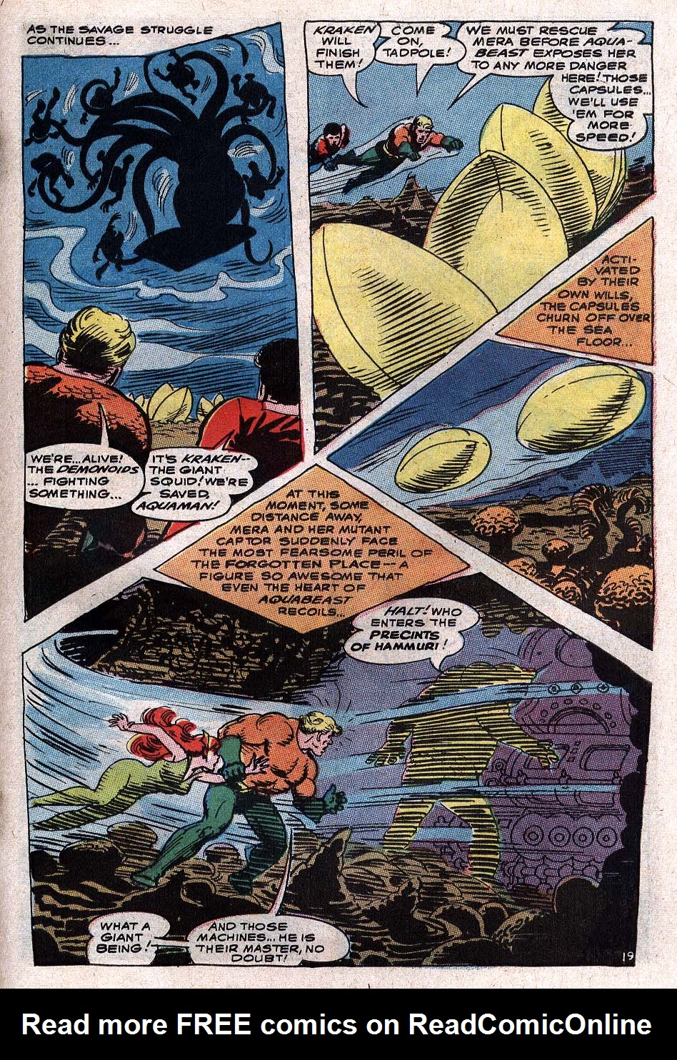 Read online Aquaman (1962) comic -  Issue #34 - 27
