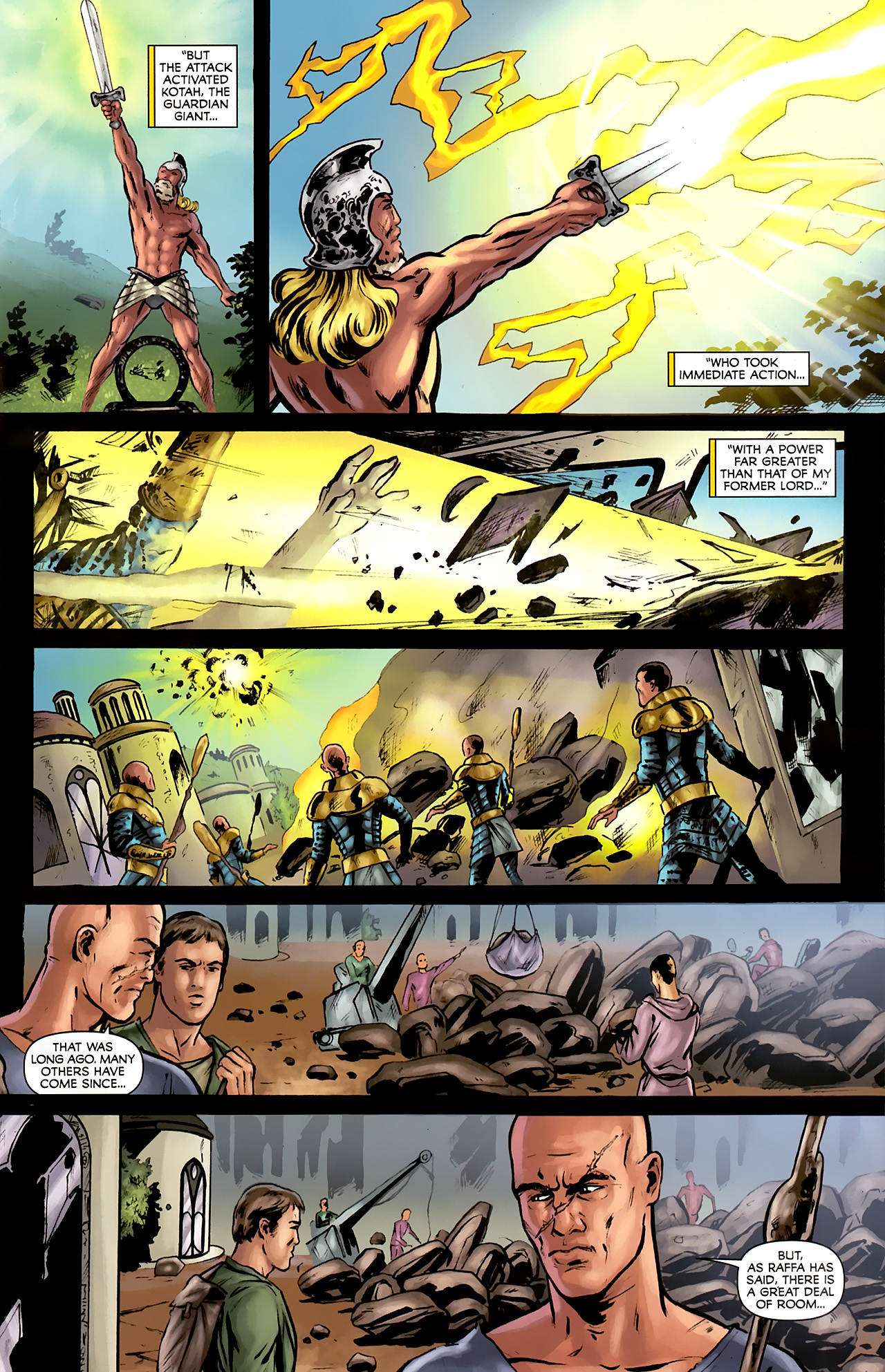 Read online Stargate: Daniel Jackson comic -  Issue #2 - 7