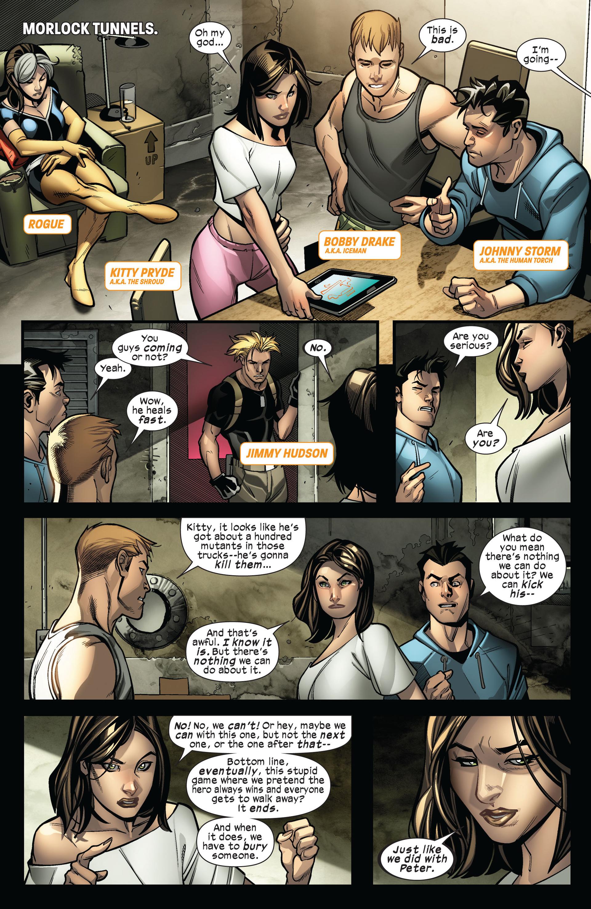 Read online Ultimate Comics X-Men comic -  Issue #4 - 15
