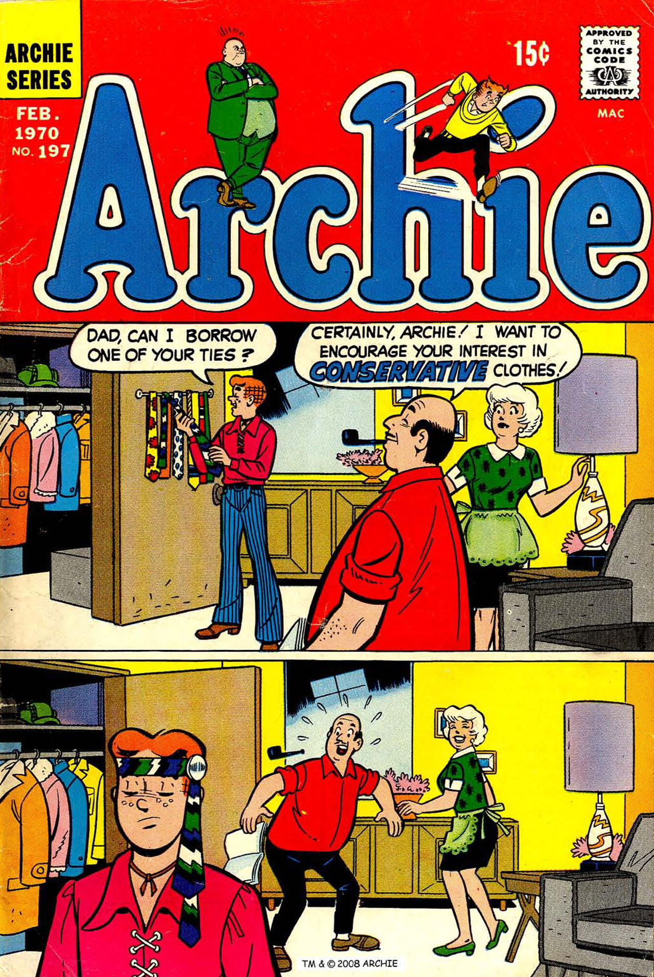 Read online Archie (1960) comic -  Issue #197 - 1